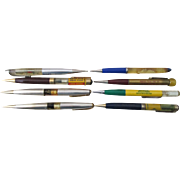 Advertising Mechanical Floater Pencil lot of 8 excellent condition