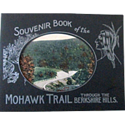 Souvenir Book of the Mohawk Trail through the Berkshire Hills Massachusetts circa 1920's