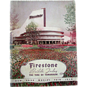 New York Worlds Fair Firestone Tire Of Tomorrow Race Car Winners booklet 1939