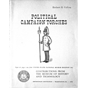 Political Campaign Torches scarce reference book Herbert Collins 1964
