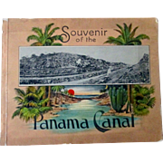 Panama Canal Souvenir Book early 1900's excellent condition