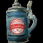 Pre-pro Chicago Worlds Fair 1893 North Western Brewing Company diecut card