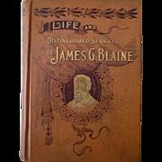 William McKinley James Blaine etc lot of 4 different political books 1892-1901