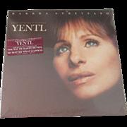 Original Barbara Streisand Yentl sealed movie soundtrack 1983