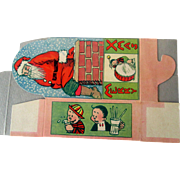 "Comic Strip ""Reg'lar Fellers"" 1935 Merry Christmas cookie/candy box"
