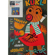 TV Show Kukla & Ollie Doodle Doll mint boxed unused 1950's