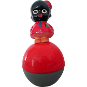 Comic Character Snow Flakes & Swipes Black Americana Roly Poly mint toy 1920's