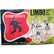 Chubby Checker Limbo Under the Bar toy near mint in box 1961