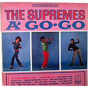 Movie Soundtrack album The Supremes A-Go-Go unplayed Motown stereo 649