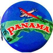 Advertising Tape Measure Panama Beaver carbon paper celluloid choice mint