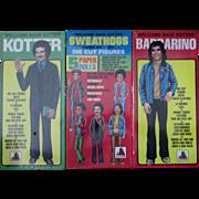 Welcome Back Kotter Sweathogs sealed paper dolls set 1977