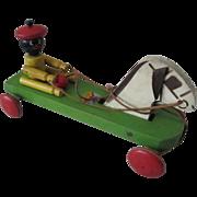 Black Americana Sambo Hustler Animated pull toy Hustler Toy Corp 1929