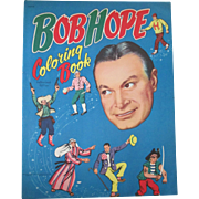 Original Bob Hope large folio unused coloring book 1954