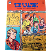Original The Waltons TV Show uncut paper dolls and outfits near mint 1975