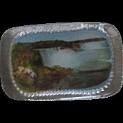 Souvenir Paperweight Niagara Falls pre-1930's-excellent condition