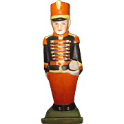 Vintage Bisque Band member Figural Toothbrush holder near mint early 1900's