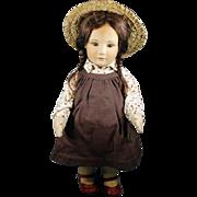 "R. John Wright -  ""Becky""  -  Cloth Doll  -  Circa: 1987  -  Little Children Series"