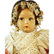 """Marga""  Cloth  Doll"