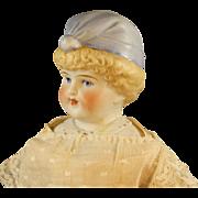 Antique German Bonnet Head Parian Doll