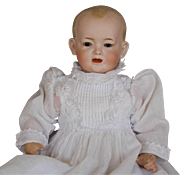 ANTIQUE  BISQUE  CHARACTER  BABY  DOLL  By  KLEY & HAHN