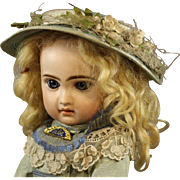 Antique French Bisque Doll by Jumeau