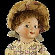 "Antique Hertel & Schwab 'Jubilee"" Googly Bisque Doll"