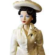 "Gene Fashion Doll  ""White Hyacinth"""