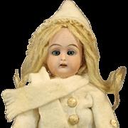 Antique German Bisque Doll by Heinrich Handwerck