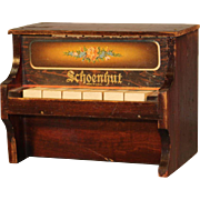 "Antique Schoenhut ""6 key"" Piano"