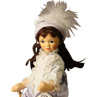 Old Cottage Doll - 'Lavender Girl'  -  in box