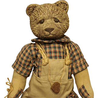 Sarah's Attic Teddy Bear - 'Going To School'