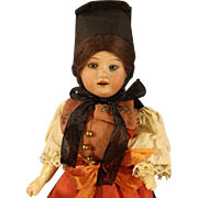 Antique German Bisque Doll - AM #390 - All Original