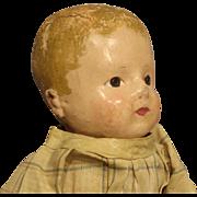 "Antique ""Rollinson"" Cloth Doll"