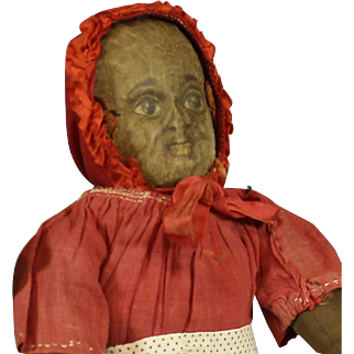 Antique 'Albert Bruckner'  Cloth  Doll