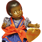 UFDC Souvenir Luncheon Doll with Trunk