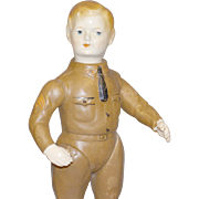 Antique Composition Doll By Ideal Doll Co. - WW1 -  'Liberty Boy'