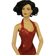 """Robert Tonner's 'Tyler Wentworth' Fashion Doll as """"Red Hot"""" from 2004 Tonner Convention"""