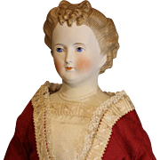 Antique German Parian Doll by C.F. Kling