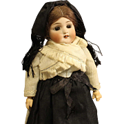 All Original Simon & Halbig Antique German Bisque Doll in Regional Dress