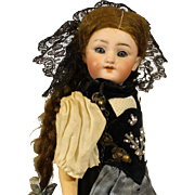 All Original Simon & Halbig Antique German Bisque Doll