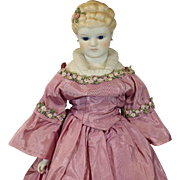 Stunning All Original Parian Doll - 'Margaret Rose' by Emma Clear