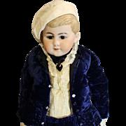 Stunning Antique German Bisque  'Boy'  Doll