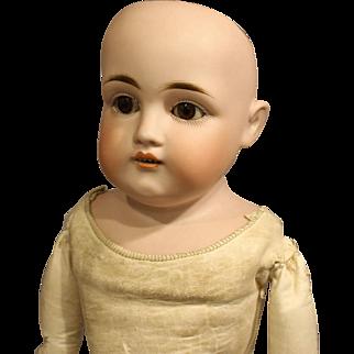 """Antique  """"J.D. Kestner""""  German Bisque Doll - 'Ready For You To Dress'"""
