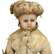 Wonderful Original French Fashion Wax Doll