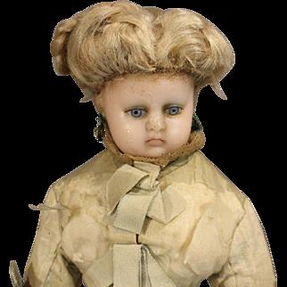 Wonderful Original French Fashion Wax Doll