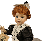 Wendy Lawton Doll - 'High Tea' - 1990 - All Bisque - MIB