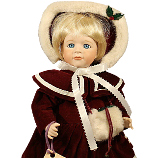 Wendy Lawton All Bisque Doll - 'Noel' - 1989