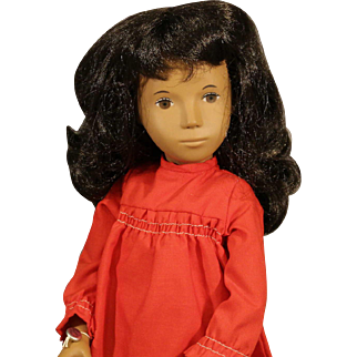 Sasha Doll - #104 - 'Brunette Red Dress' - NRFB (never removed from box)