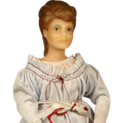 UFDC  'Alexandra'  Wax  Doll  from the 1988 UFDC Convention