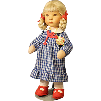 Kathe Kruse Doll - Mint In Box - 'Dolle' 25H